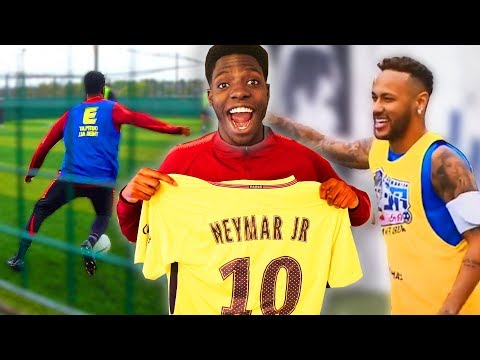 I Entered a PRO Football Competition ft Neymar Jr & This Happened
