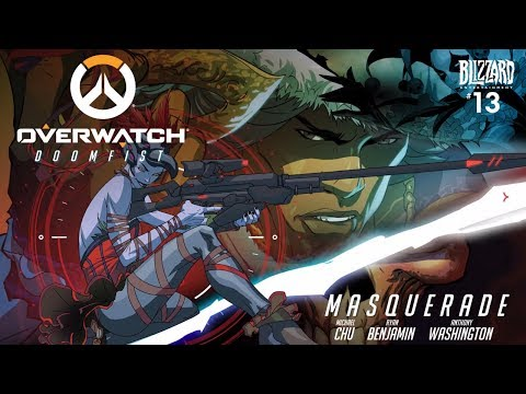 "Overwatch Animated Comic | Doomfist Masquerade #13 | Doomfist return to ""Talon"""