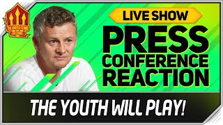 Solskjaer Press Conference Reaction! Man Utd vs Astana