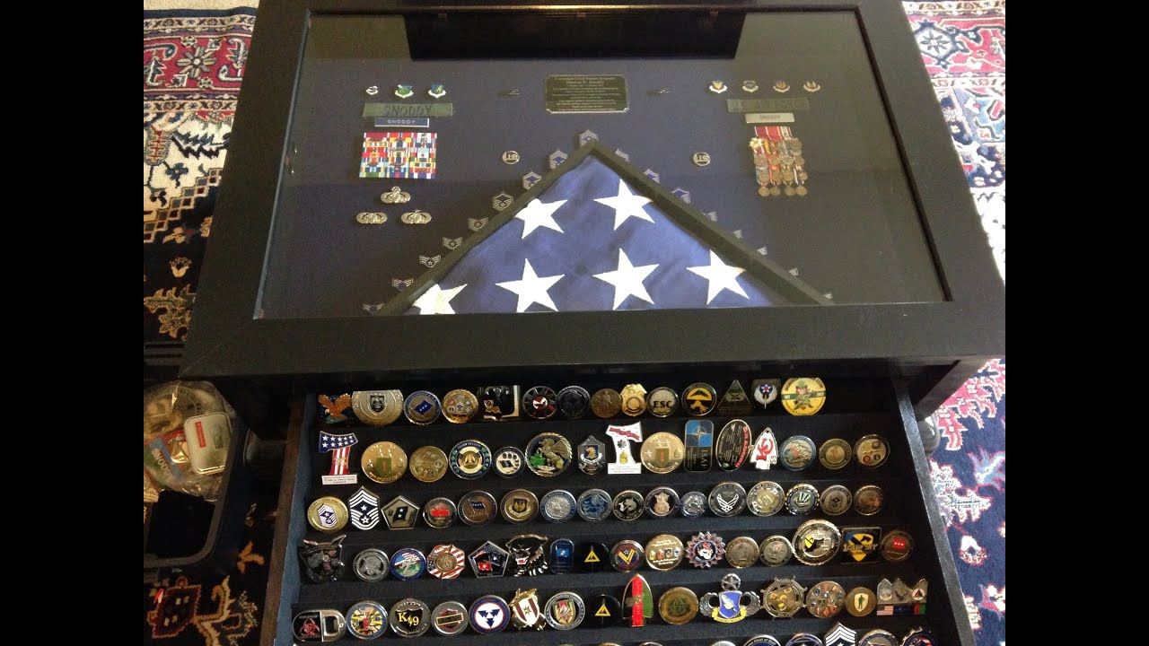 The Chief s Shadow Box Coin Table Build
