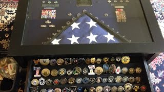 The Chief's Shadow Box Coin Table Build