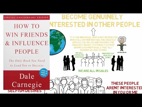 BECOME GENUINELY INTERESTED IN OTHER PEOPLE | HOW TO WIN FRIENDS & INFLUENCE PEOPLE ANIMATED #4