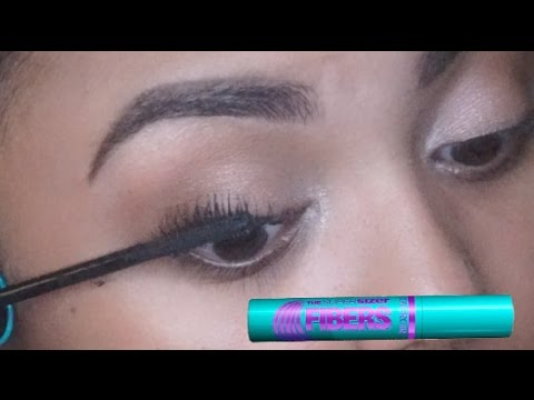 dbe647ef7a8 Covergirl Super Sizer Fibers Mascara | First Impression - YouTube