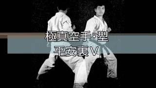 極真空手の型・平安裏Ⅴです。 KyokushinKata pinan5ura.