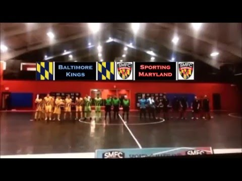 MAJOR LEAGUE FUTSAL | MATCH HIGHLIGHTS: Baltimore Kings vs. Sporting MD (5/14/16 Exhibition)