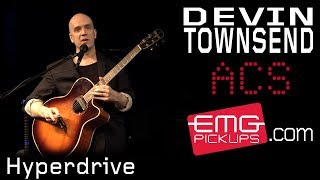 "Devin Townsend plays ""Hyperdrive"" on EMGtv"