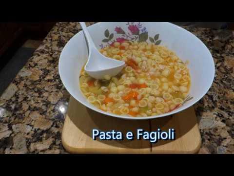 Italian Grandma Makes Pasta e Fagioli - Beans 3 Ways