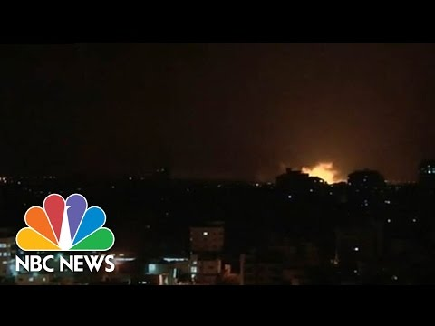 Israel Launches Gaza Ground Invasion | NBC News