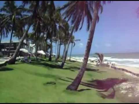Praia da Via Costeira. Cidade de Natal RN Brasil. Hotel Vila do Mar.