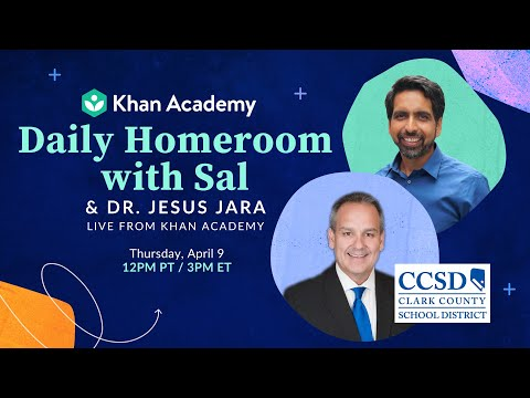 Daily Homeroom with Sal: Thursday, April 9