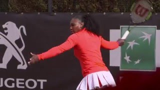 WTA Stars Practice In Rome