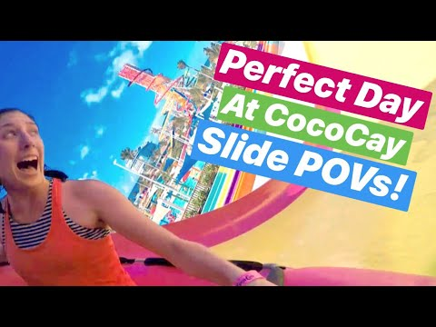 Thrill Waterpark Slide POVs & Identification! | Perfect Day At CocoCay | Royal Caribbean Island!