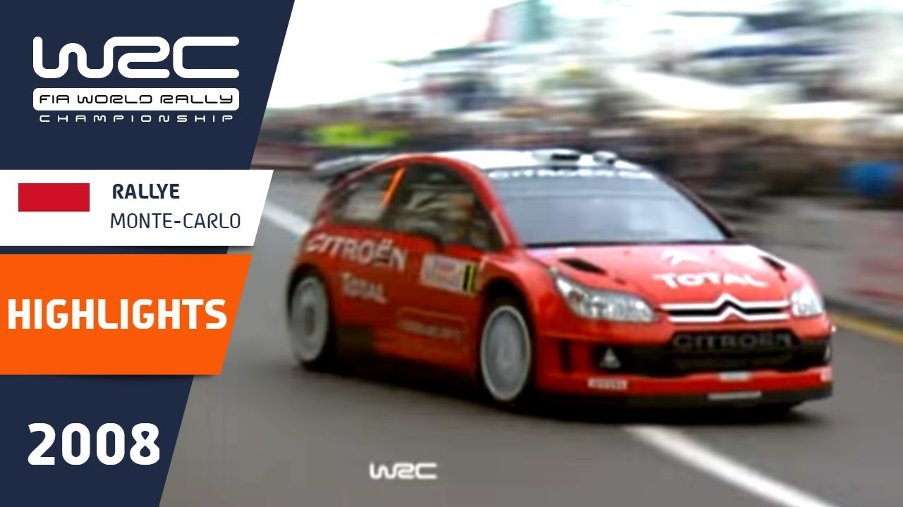 Rallye Monte-Carlo 2008: Highlights / Review / Results