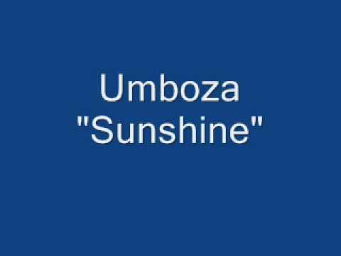 Umboza- Sunshine