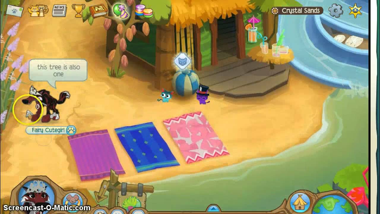 Image of: Jamaa Youtube The Crystal Sands Animals On Animal Jam Youtube