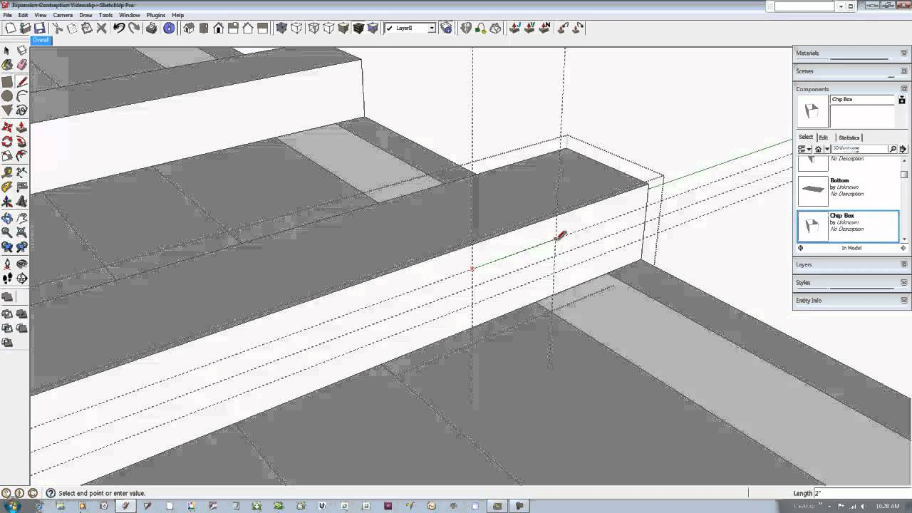 Jig Design with SketchUp Help