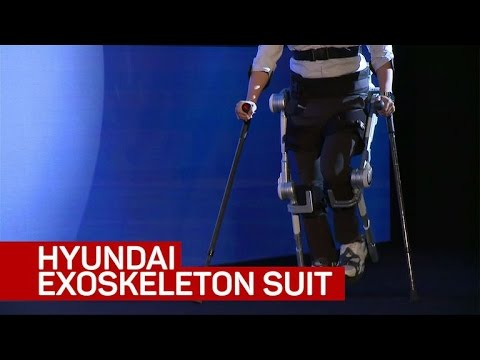 Hyundai's medical exoskeleton suit shows the promise of robots