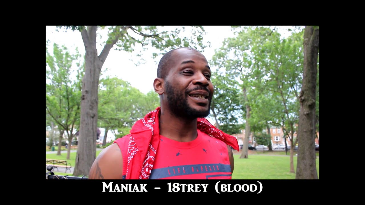 Bronx Blood Maniak from 18trey Bloods speaks on beef on rikers island &  Gang banging in NYC