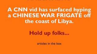 AFRICA: CHINESE FRIGATE ON RESCUE MISSION