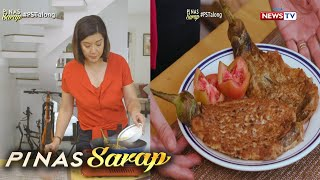 Pinas Sarap: Tortang talong with a twist ala Kara David