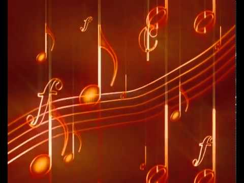 Music Notes Video Background TVSD243 , Free Animated Motion