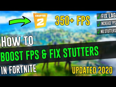 🔧Boost FPS And Fix Stutters In Fortnite ✅ |*UPDATED 2020*|Fortnite Optimization Tips!