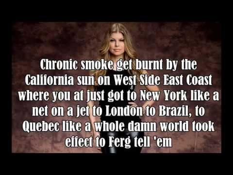 L.A. Love - Fergie FT. YG - Lyrics