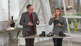 Alegria Water Resistant Leather Ankle Boots w/ Faux Fur - Meri on QVC