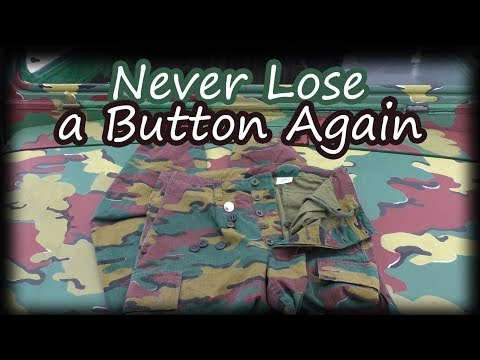 How To Never Lose A Button Again