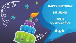SuJung   Card Tarjeta - Happy Birthday