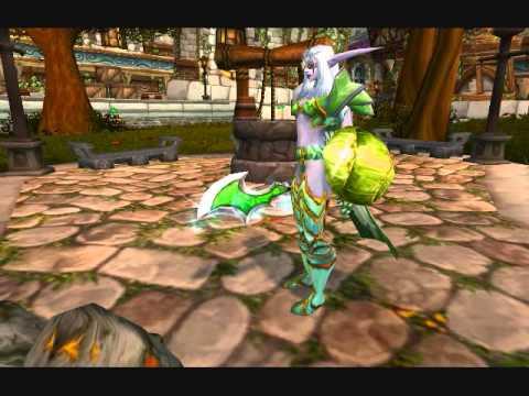 LackLuster Gaming: World of Warcraft: Transmog Contest: Rainslash: Jade Plate
