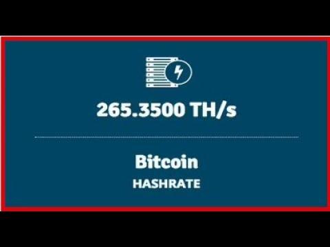 265 TH/s BITCOIN Hashrate! Genesis Mining PAYOUTS!