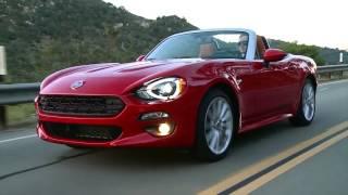 2017 Fiat 124 Spider Lusso - Driving Video | AutoMotoTV
