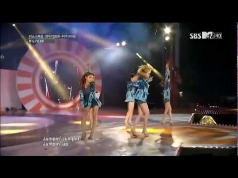 [Live]121005 KARA - Jumping SBS MTV Incheon K-POP Concert