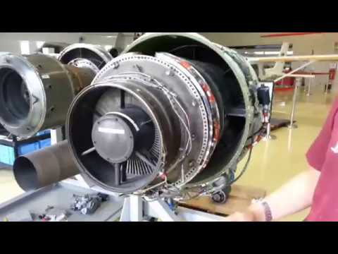 Turbojet engine vs turbofan engine