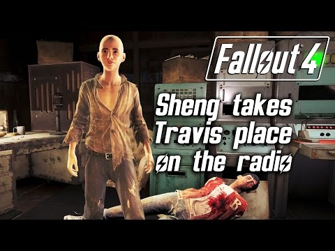 Fallout 4 - Sheng Kawolski takes Travis place as DJ of Diamond City Radio