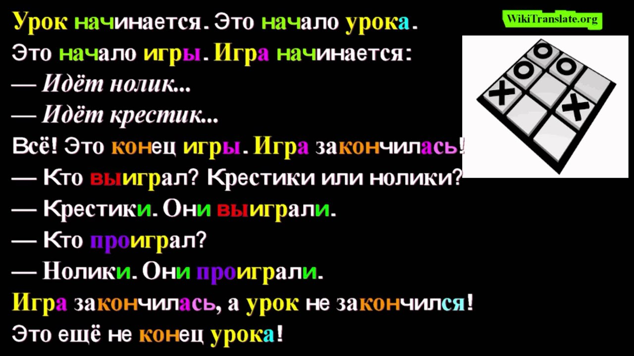 Learn Russian Prefixes Amp Verb Aspects Lesson The Game