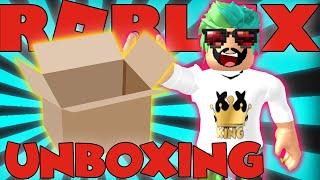 Lo que hay fuera de las cajas Roblox Unboxing Simulator📦