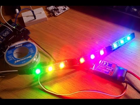 Как сделать цветные диоды Светодиоды в поворотники и стопари