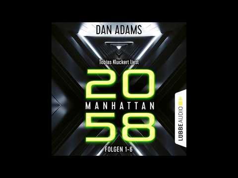 Manhattan 2058. Sammelband 1-6 YouTube Hörbuch Trailer auf Deutsch