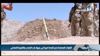 القوات المسلحة تحرز تقدما كبيرا في جبهة باب المندب والشريط الساحلي