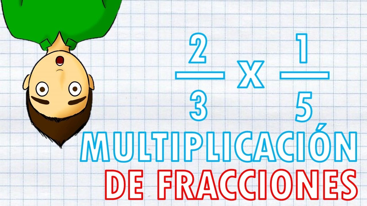 Multiplicacion De Fracciones Super Facil Youtube