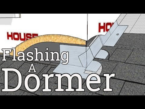 Flashing A Dormer In 4d Youtube