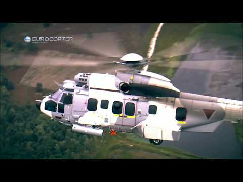 Airbus Helicopters - EC725 Cougar Multi-Mission Helicopter Live Firing [1080p]