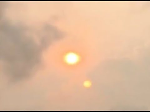 Two Suns Appear During Red Sky Event-Chaotic Weather Modification-Threat of Nuclear Meltdown