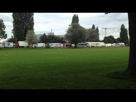 Circus KNIE montage Bern 2014 (10)