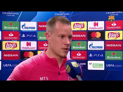 INTERVIEW TER STEGEN FC BARCELONA BEFORE CHAMPIONS LEAGUE MATCH VS MANCHESTER UNITED