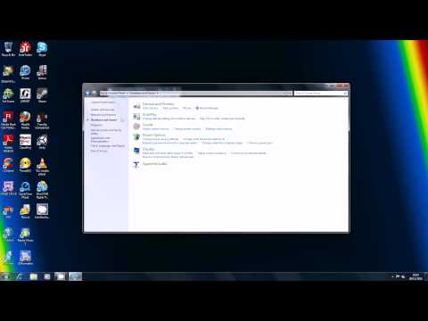 How To Change Mouse Setting In Windows 7
