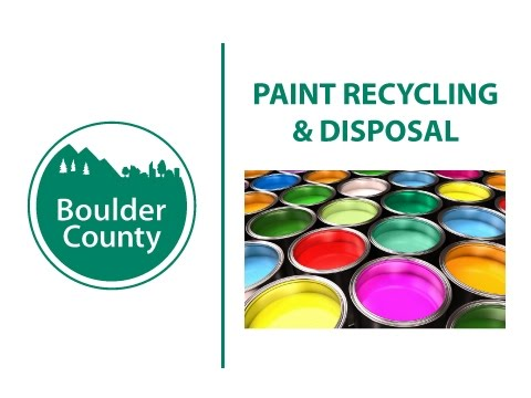 Paint Recycling & Disposal