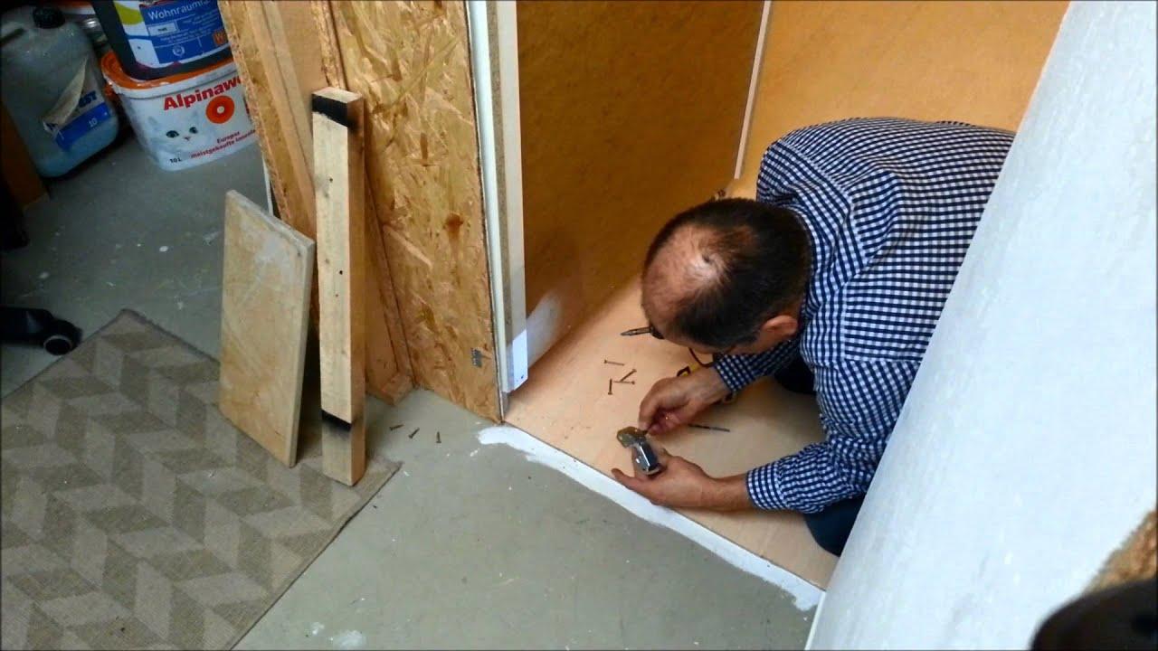 Geheimtur Versteckte Tur Mit Einem Ikea Regal Bauen Youtube